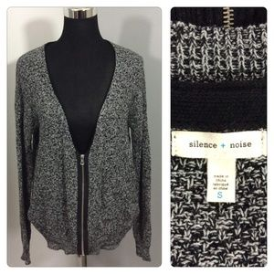 Anthropologie Silence and Noise Cardigan Sweater S